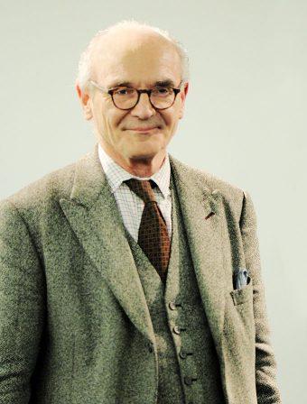 Portrait von Martin Mosebach.