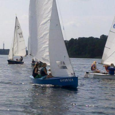 Wassersport auf der Insel Scharfenberg